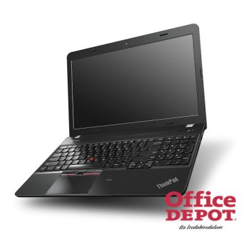 "LENOVO ThinkPad E550 20DFS01N00 15,6""/Intel Core i3-4005U/4GB/500GB/R7-M265-2GB/DVD író/fekete/Win7/8Pro notebook"