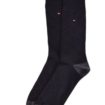 TH MEN QUILTING SOCK 2P