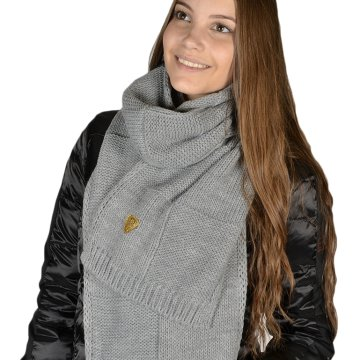 WOMANS KNIT SCARF