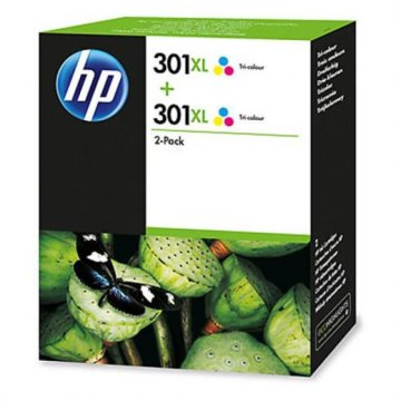 HP CH564EE/301XL duo pack, patron, színes