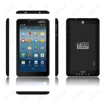 TOO Smart 724G 7' Wi-Fi + 3G 4GB DualCore fekete phablet