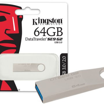 Kingston DataTraveler SE9 G2 64GB PenDrive ezüst USB3.0