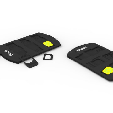 Btech sim card adapter BSH7010 fekete