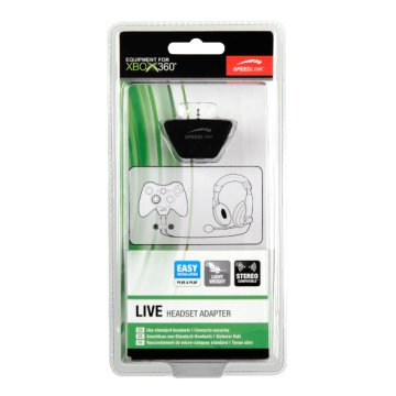 SL-2337 Xbox 360 Live Headset adpater