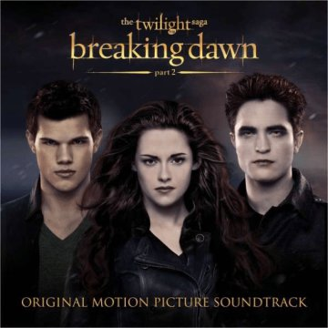 The Twilight Saga - Breaking Dawn, Part 2 (Alkonyat - Hajnalhasadás) CD