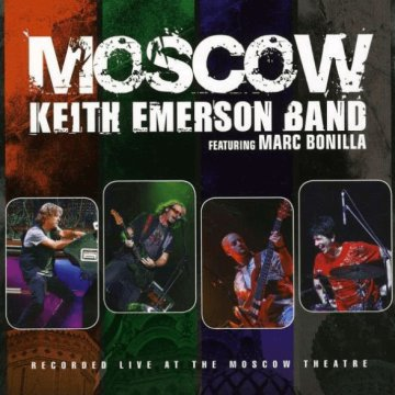 Moscow (Live At The Moscow Theatre) CD