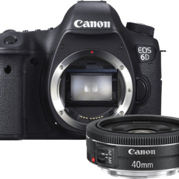 EOS 6D + 40 mm f/2.8 STM Kit