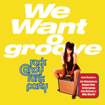 We Want Groove LP