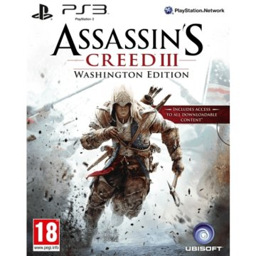 Assassin's Creed III Washington Edition PS3