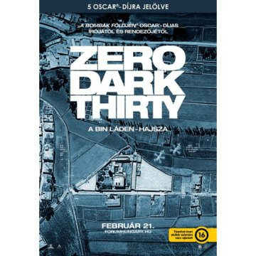 Zero Dark Thirty - A Bin Láden-hajsza DVD