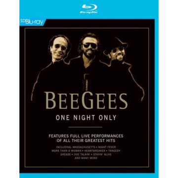 One Night Only Blu-ray