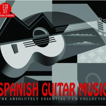 Spanish Guitar Music CD