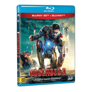 Iron Man - Vasember 3. 3D Blu-ray