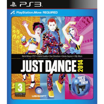 Just Dance 2014 PS3 Move