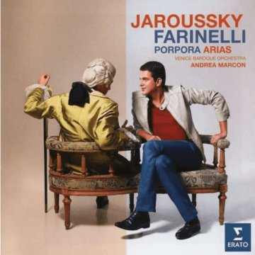 Farinelli - Porpora Arias CD