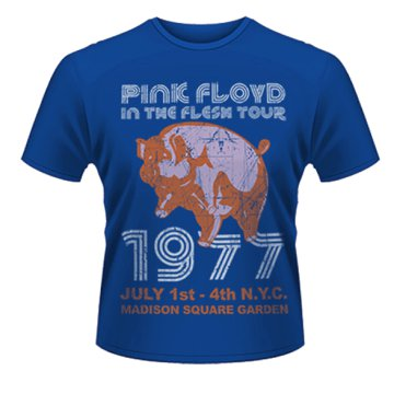 Pink Floyd - In The Flesh, Nyc 77 Tour T-Shirt XXL