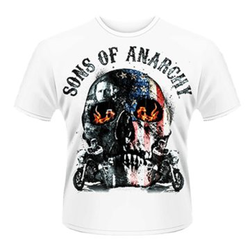 Sons Of Anarchy - Flame Skull T-Shirt L