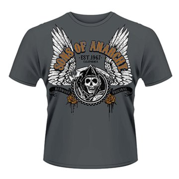 Sons Of Anarchy - Winged Reaper T-Shirt M
