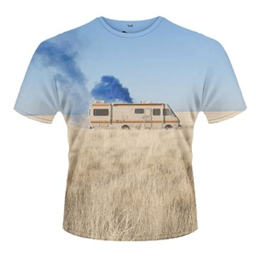 Breaking Bad - Trailer T-Shirt L