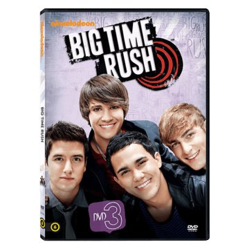 Big Time Rush - 1. évad 3. lemez DVD