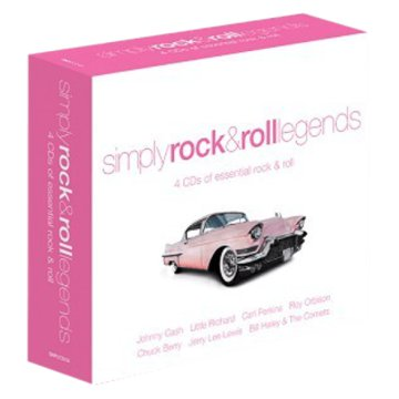 Simply Rock & Roll Legends CD
