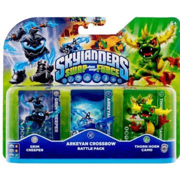 Skylanders Swap Force Battle Pack (játékfigurák)