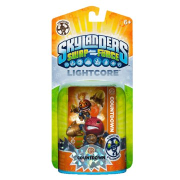 Skylanders Swap Force Lightcore Countdown (játékfigura)