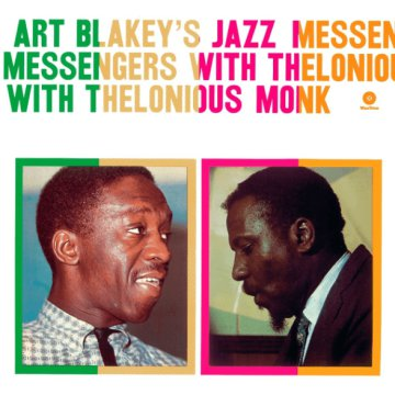 Art Blakey's Jazz Messengers With Thelonious Monk CD