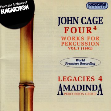 Legacies 4: Works for Percussion - Four4 CD