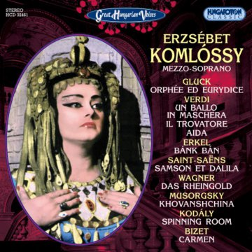 Great Hungarian Voices - Erzsébet Komlóssy CD