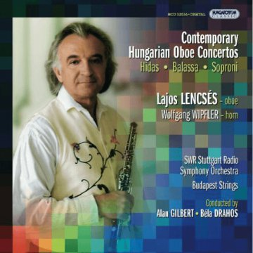 Contemporary Hungarian Oboe Concertos CD