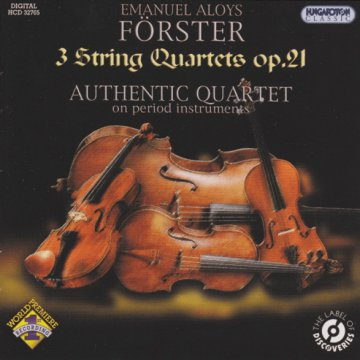 3 String Quartets Op. 21 CD