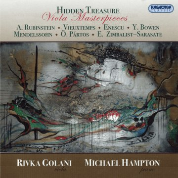 Hidden Treasure - Viola Masterpieces CD