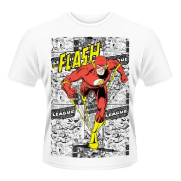 Flash - Comic Strip T-Shirt XL