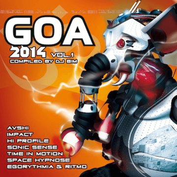 Goa 2014 Vol.1 CD