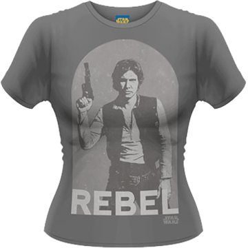 Star Wars - Han Rebel - Girls Ts M