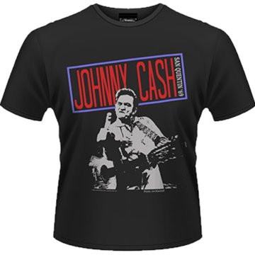 Johnny Cash - San Quentin 69 T-Shirt L