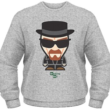 Breaking Bad - Heisenberg Minion - Crew Neck Sweatshirt L