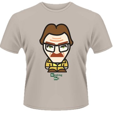 Breaking Bad - Walter With Hair Minion T-Shirt L