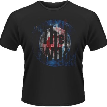 Who - Textured Target T-Shirt S