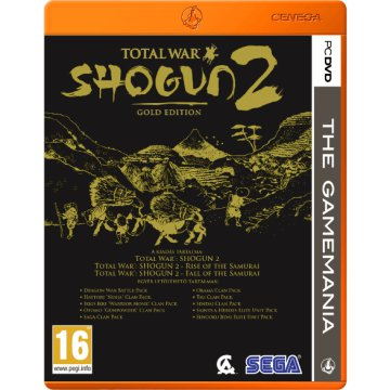 Total War: Shogun II - Gold Edition (The Gamemania) PC
