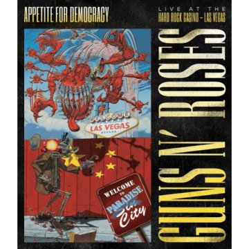 Appetite for Democracy - Live at the Hard Rock Casino - Las Vegas 2012 DVD