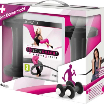 My Body Coach PS3 + 2 PlayStation 3 Súlyzó