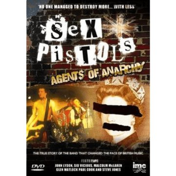 Agents of Anarchy DVD