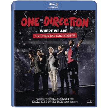 Where We Are - Live from San Siro Stadium Blu-ray