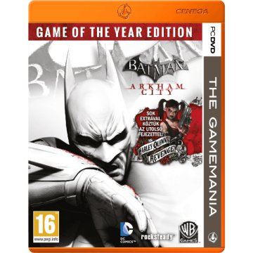 Batman: Arkham City - Game of The Year Edition (The Gamemania) PC