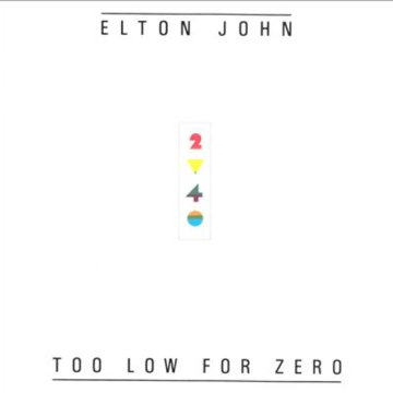 Too Low For Zero CD