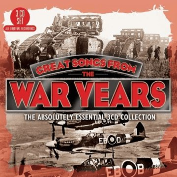 Great Songs From The War Years CD