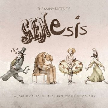 The Many Faces of Genesis CD