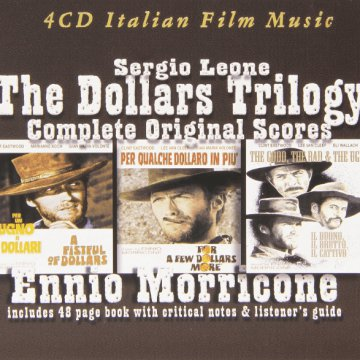 The Complete Dollars Trilogy - Complete Original Scores CD